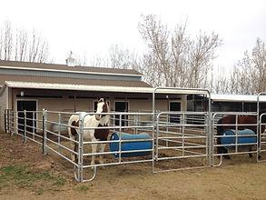 Highland Utah Horse Boarding Facility