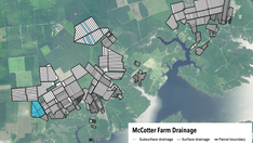 On-Farm Drainage Map