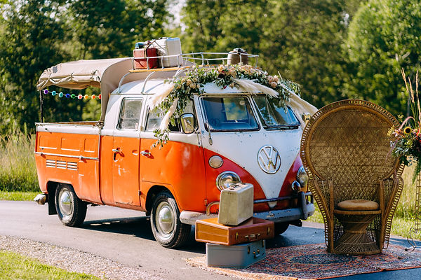 VW Truck at wedding