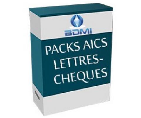 Impression de Lettres-Chèques AICS