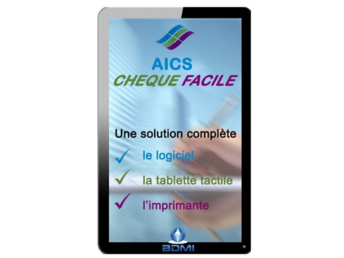 Pack Tablette Chèque Facile AICS