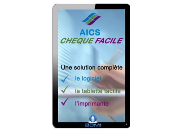 Pack Tablette Chèque Facile AICS
