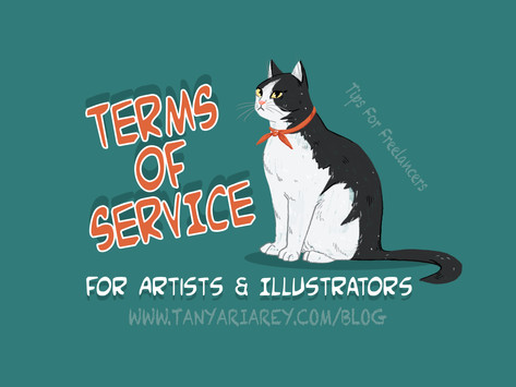 Terms Of Service For Artists & Illustrators. Tips For Freelancers.