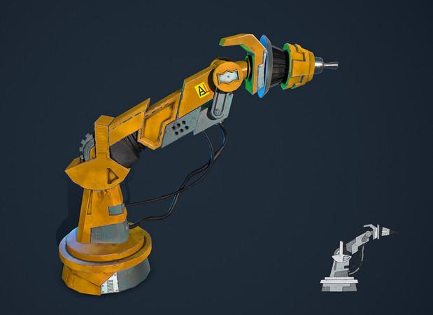Robot Laser Hand