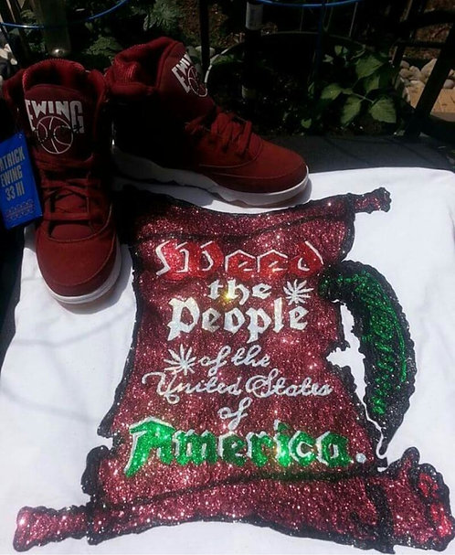 Weed the People - Hand Painted