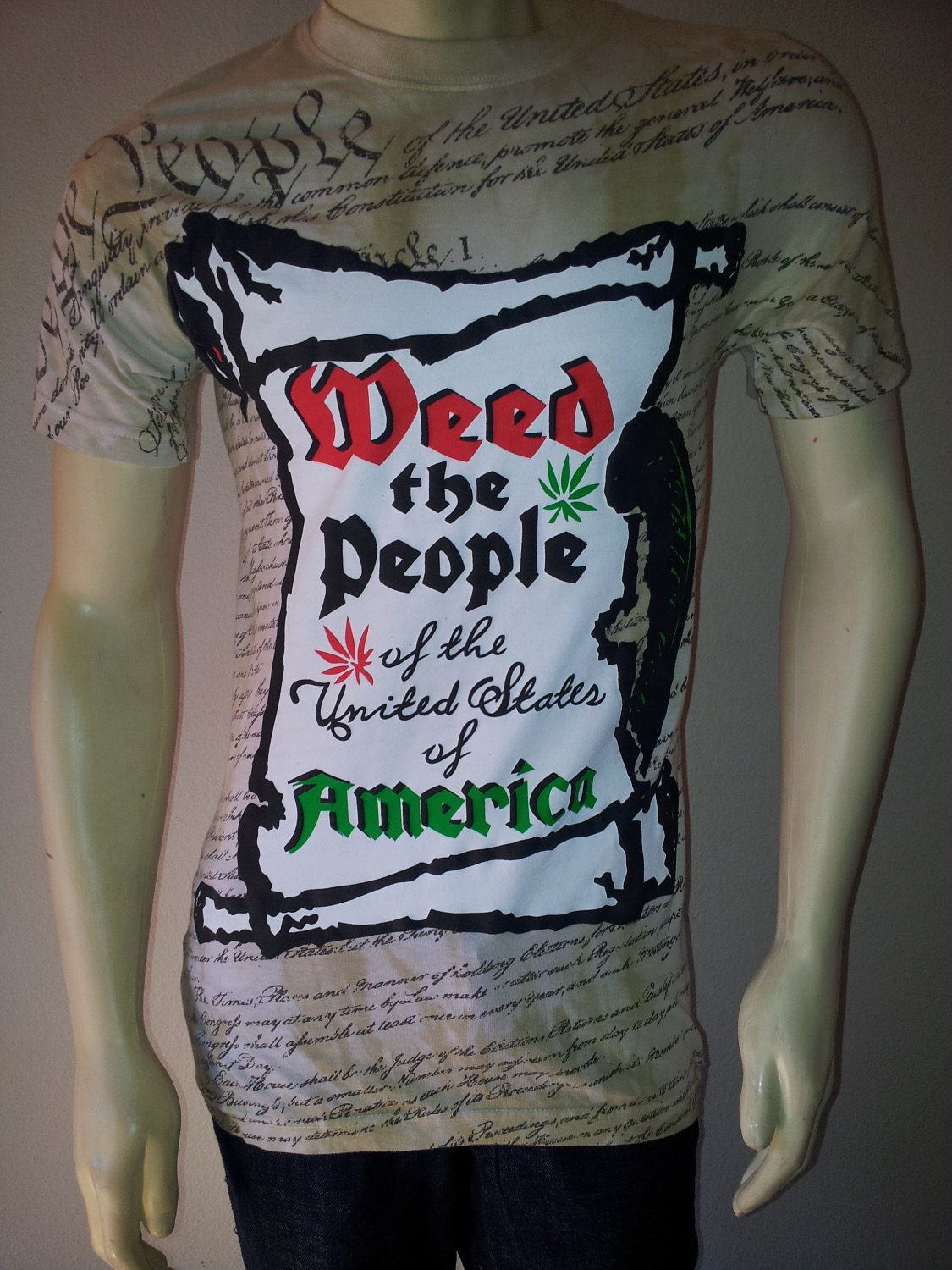 WEED THE PEOPLE (Constitution)