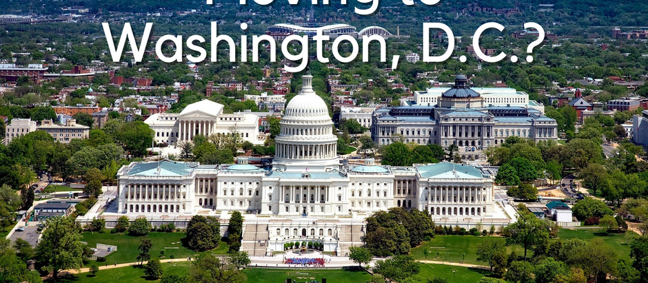 Moving to Washington D.C? What to Do When You're New in Town.