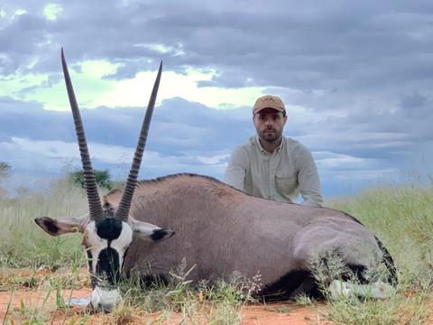 Oryx Hunting in Namibia with Zana Botes Safari