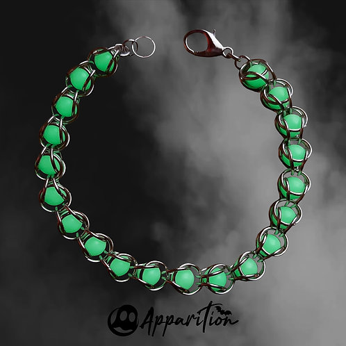 Ectoplasm Chainmaille Bracelet