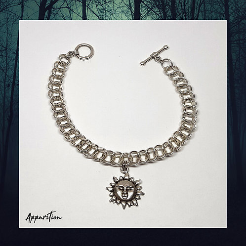 Smiling Sun Chainmaille Bracelet
