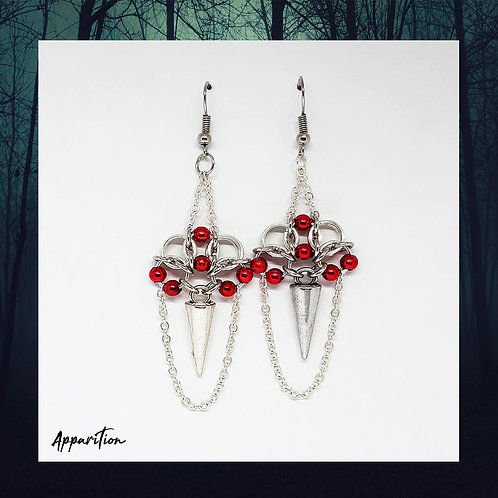 Vampira Chainmaille Earrings