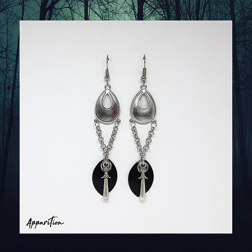 Goddess Of War Scalemaille Earrings