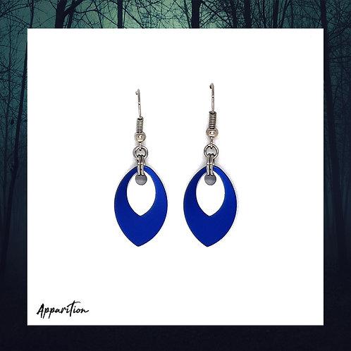 Blue Aegis Earrings