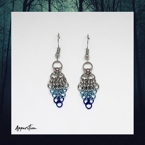 Sea Breeze Chainmaille Earrings