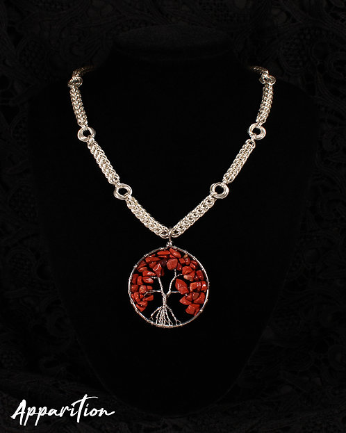 Chunky Tree of Life Chainmaille Necklace