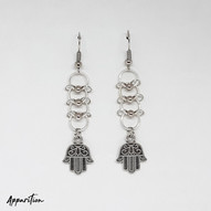 Ladder of Peace Chainmaille Earrings