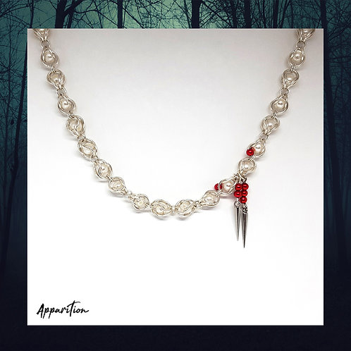 Countess Bathory Chainmaille Necklace