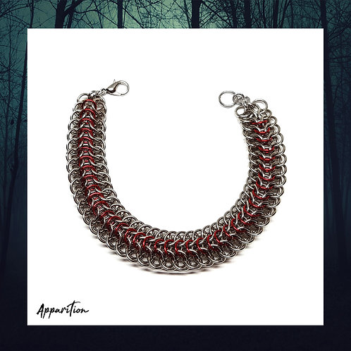 Fire Dragon Chainmaille Bracelet