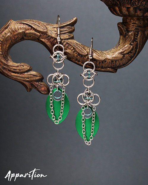 Odin's Visions Scalemaille Earrings