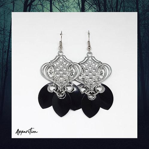 Oriental Scale Earrings