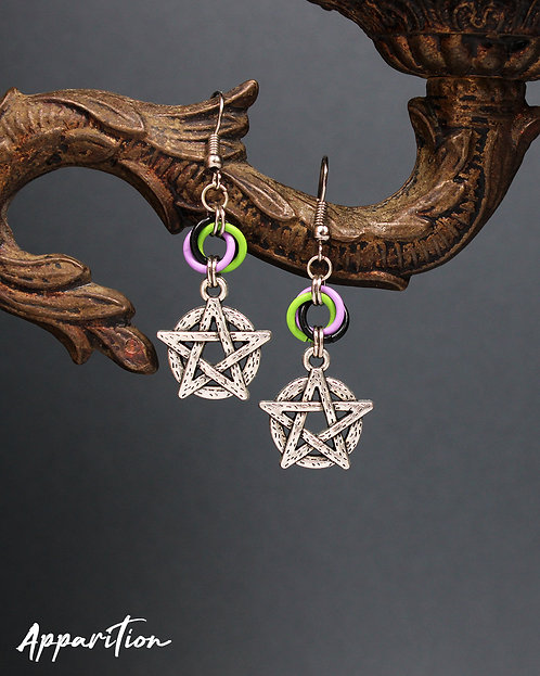 The Mage of the Soul Earrings