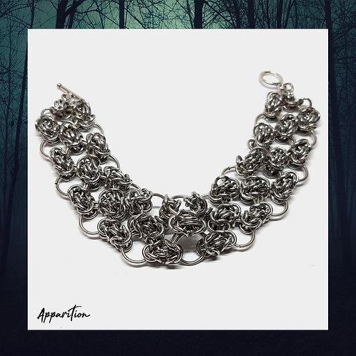 Byzantine Lace Chainmaille Bracelet