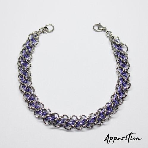 Abhainn Purpaidh Chainmaille Bracelet
