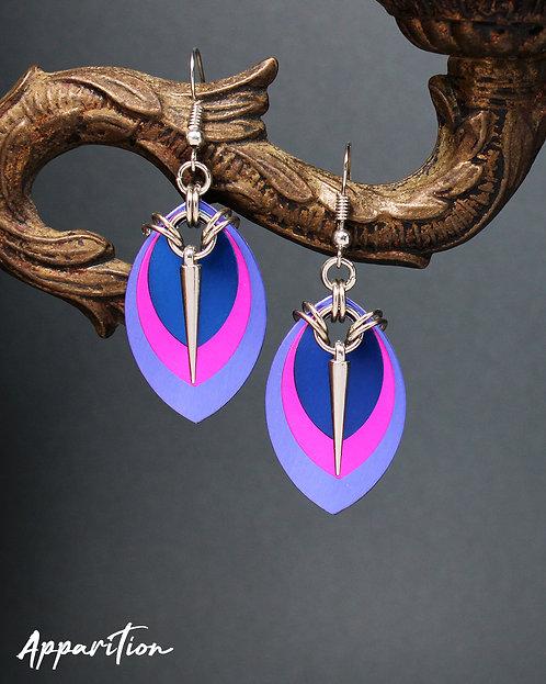Supaiku Scalemaille Earrings