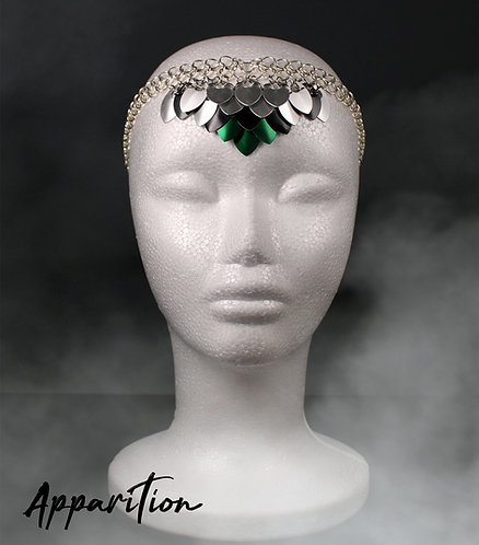 Evalyn Scalemaille Headdress