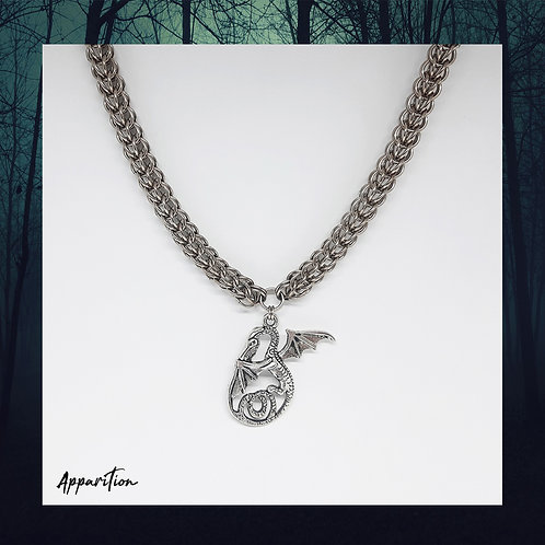 Tiamat Chainmaille Necklace
