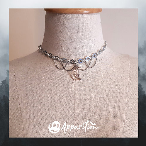 Galaxy Chainmaille Choker