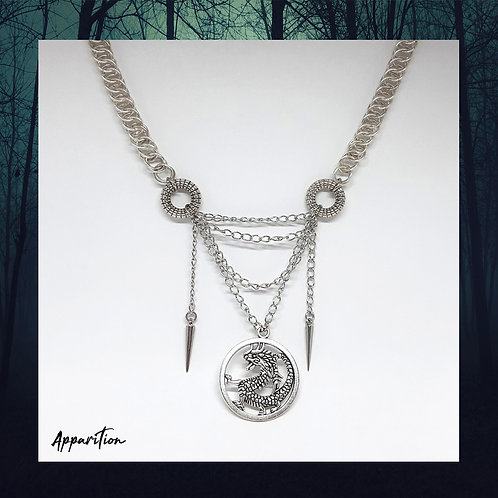Draco Regina Chainmaille Necklace