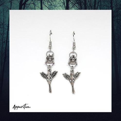 Angel Tsubaki Chainmaille Earrings