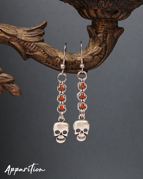 Ancestral Connection Chainmaille Earrings