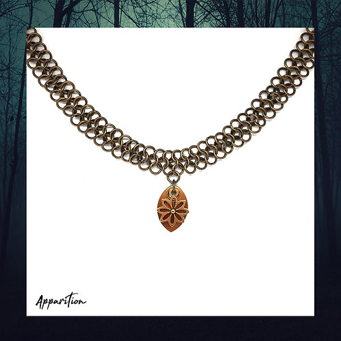 Flower of the Sun Chainmaille Choker