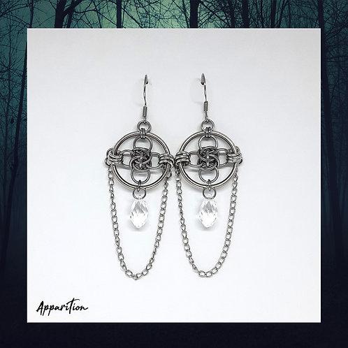 Queen Of The Underworld Swarovski Earrings