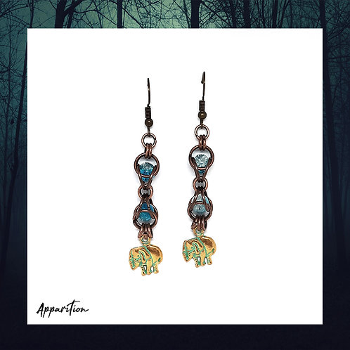 Amarula Chainmaille Earrings