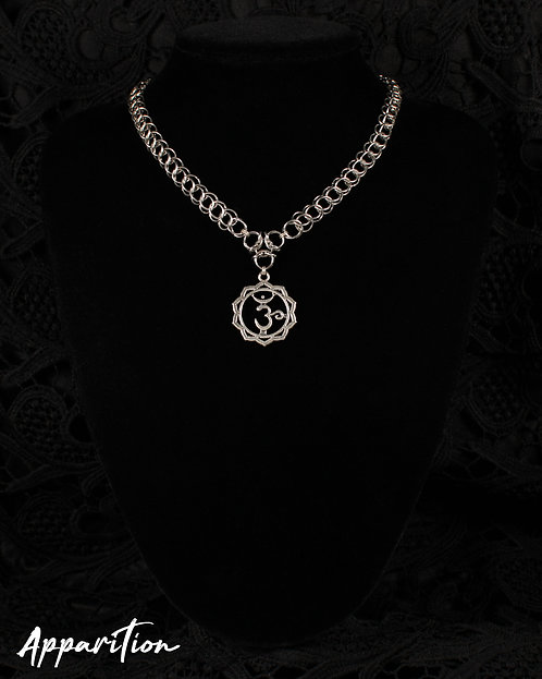 Crown Chakra Chainmaille Necklace