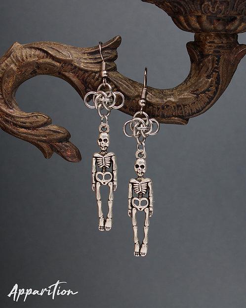 Glorious Dead Man Earrings