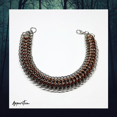 Bronze Dragon Chainmaille Bracelet
