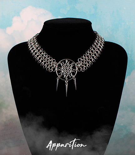 Nephele Chainmaille Necklace