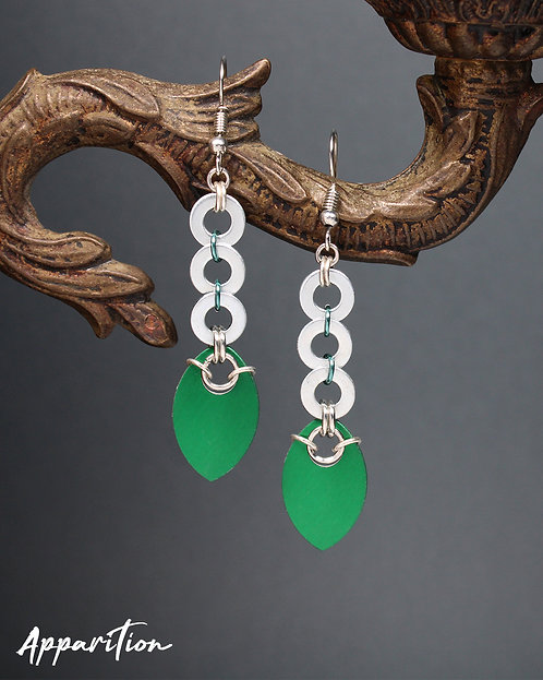 Lucky Path Scalemaille Earrings