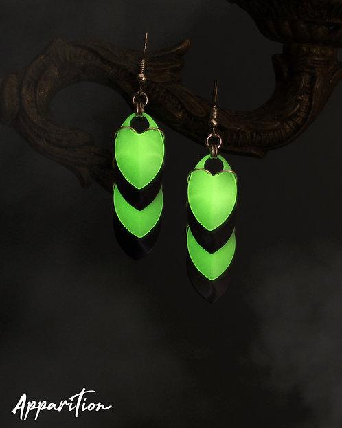 Zeta Scalemaille Earrings