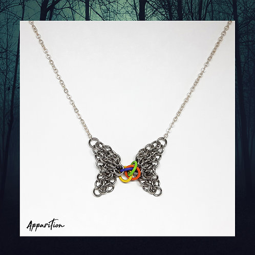 Chainmaille Butterfly Necklace