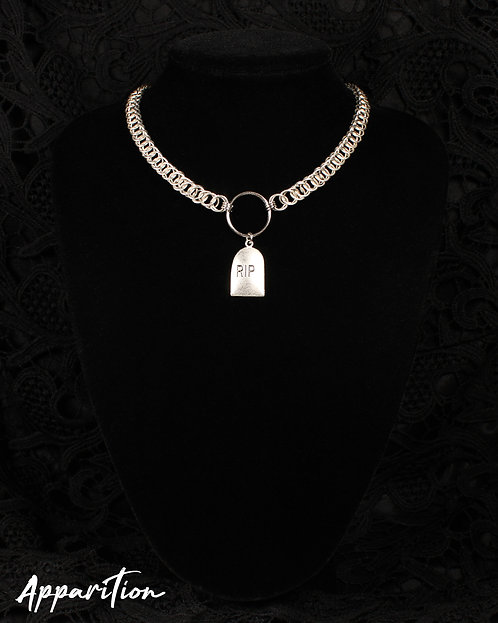 O-So Dead Chainmaille Choker