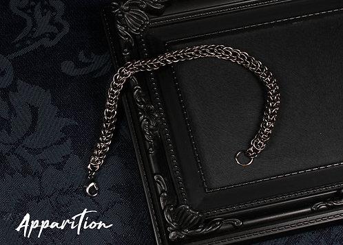 Ebony Foxtail Chainmaille Bracelet