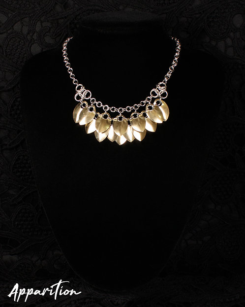 Aura Pendant Scalemaille Necklace