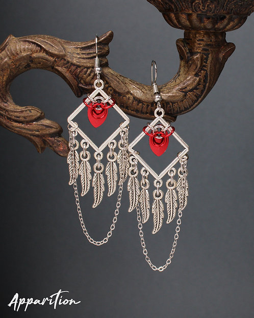 Marylin Chainmaille Earrings