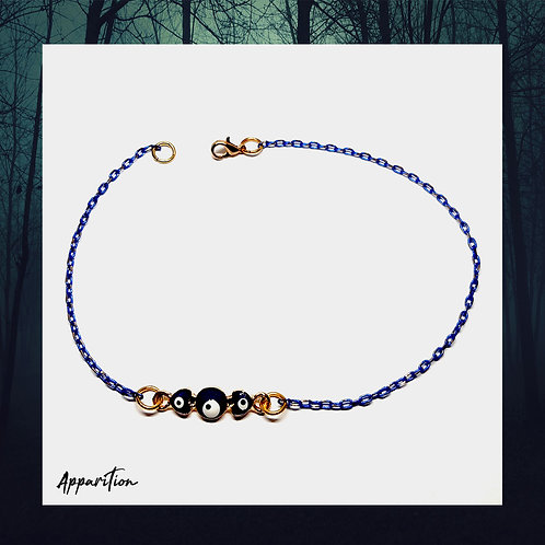 Eye of Protection Blue Chain Anklet