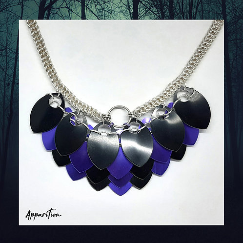 The Wicked Queen Scalemaille Necklace